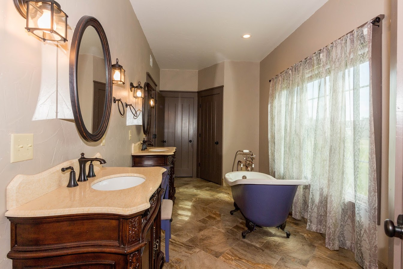 French Inspired Master Bath