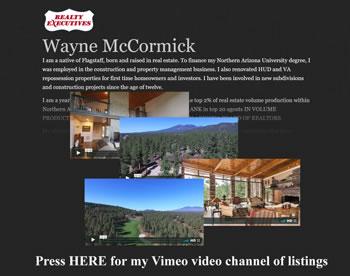Wayne McCormick's Vimeo channel