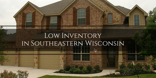 low inventory southeastern wisconsin