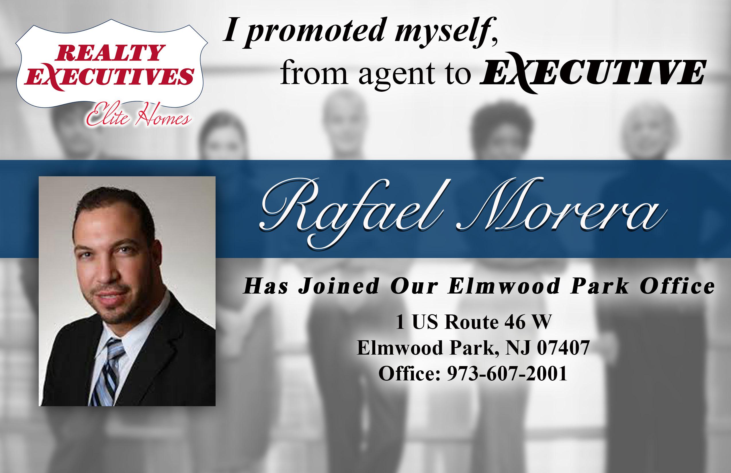 Rafael Morera Joins Realty Executives Elite Homes