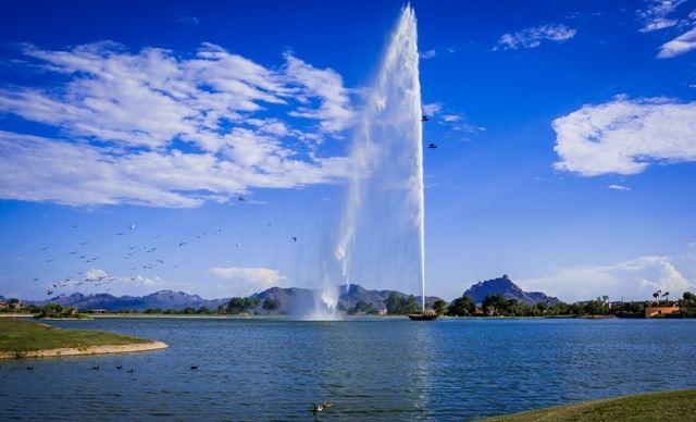 fountain at fountain hills