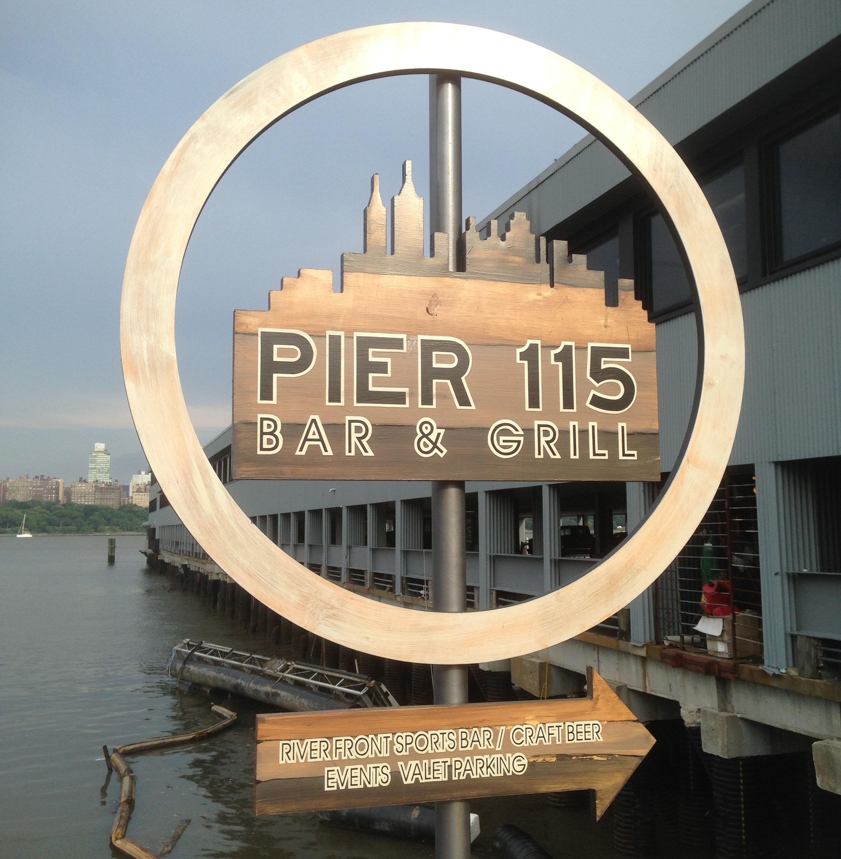 Pier 115 in Edgewater NJ