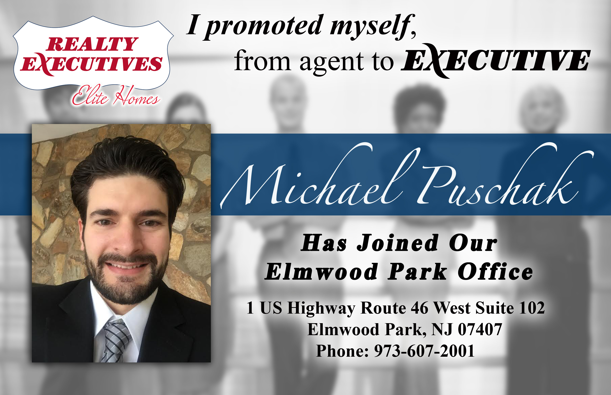 Michael Puschack Joins Realty Executives Elite Homes