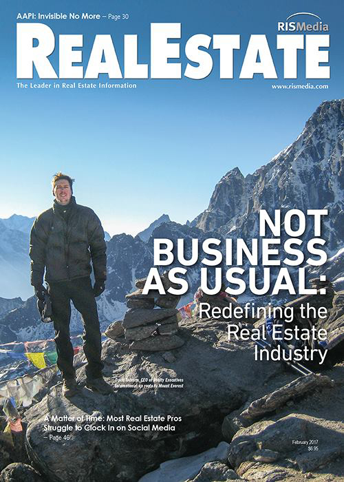David Tedesco is featured in RisMedia magazine