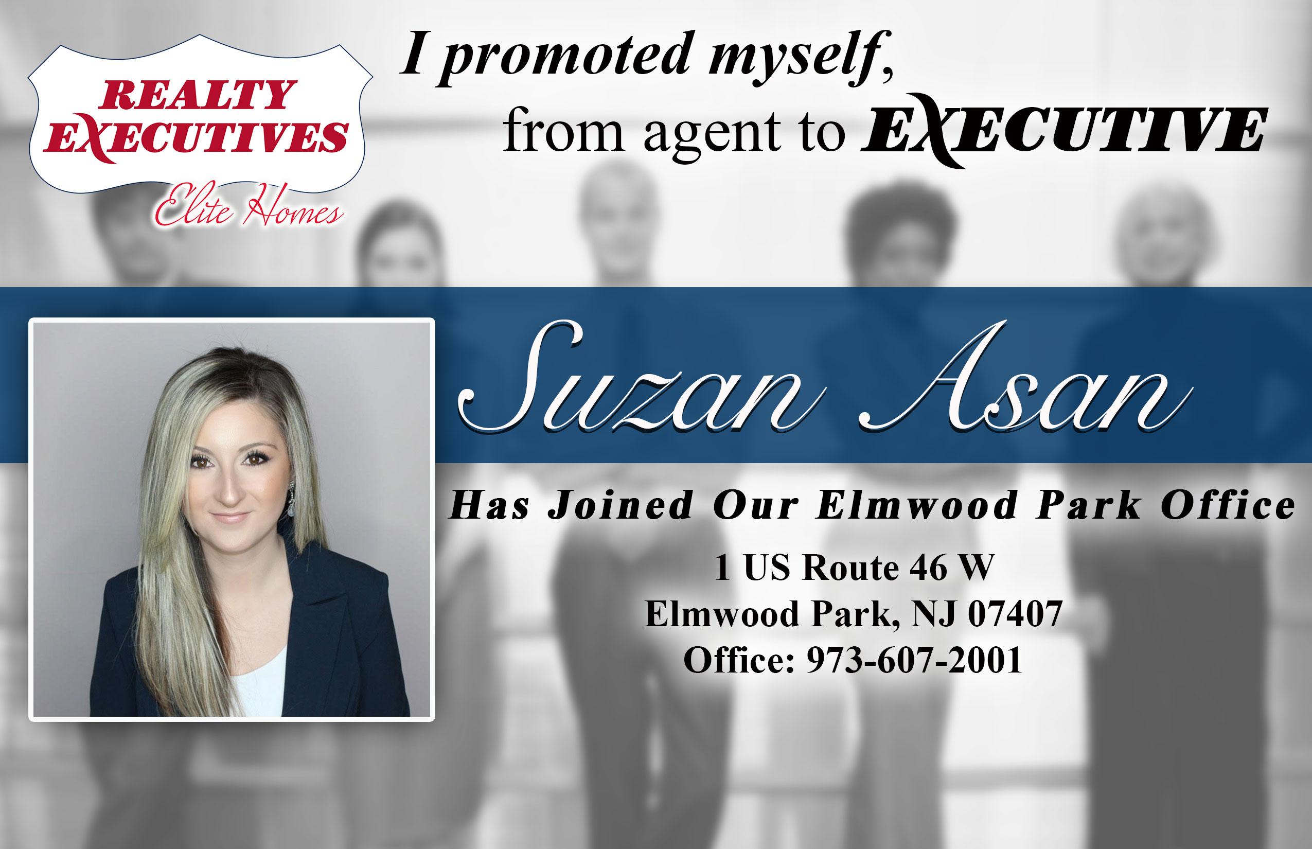 Suzan Asan Joins Realty Executives Elite Homes