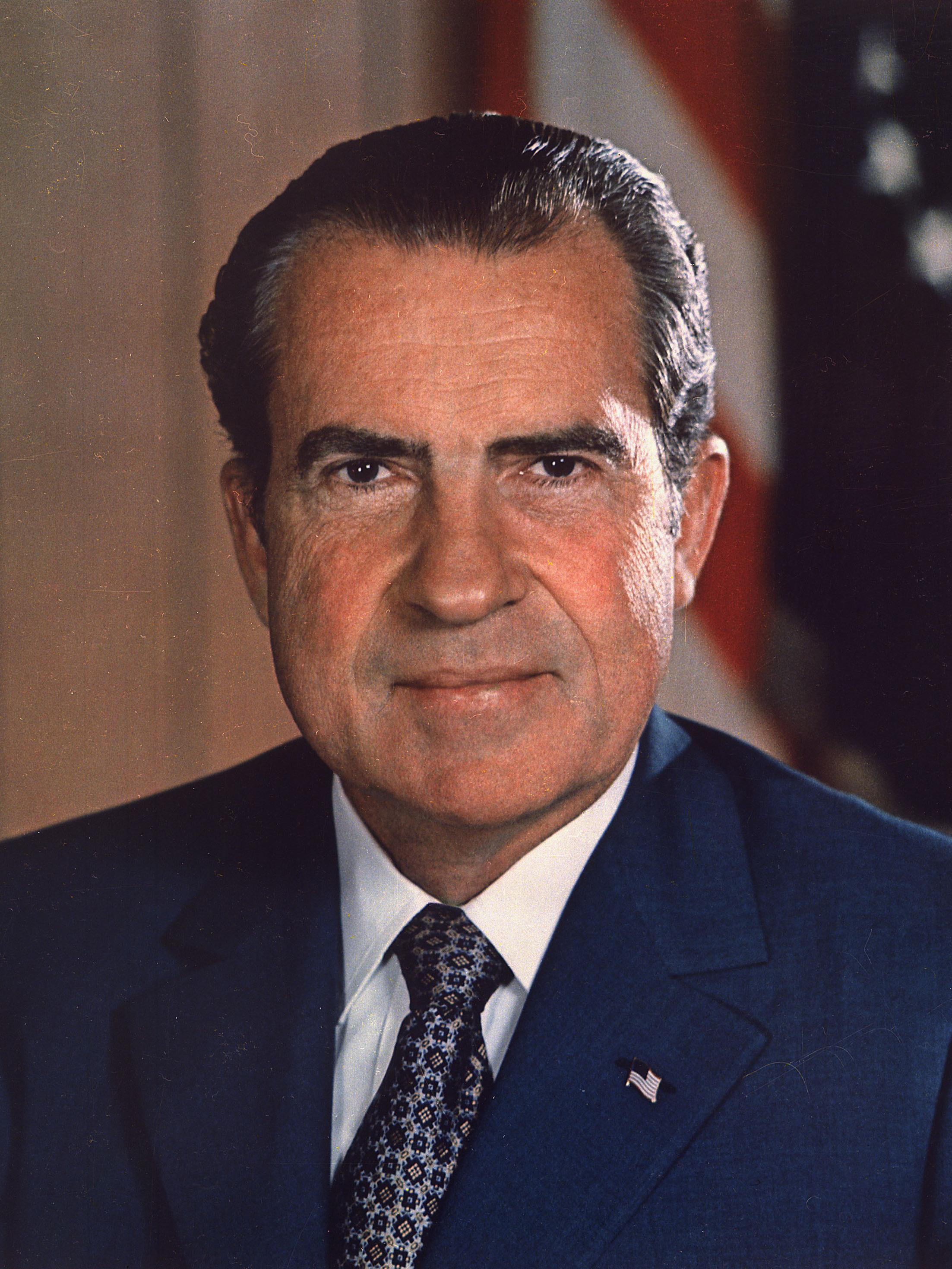 Richard Nixon Saddle River New Jersey