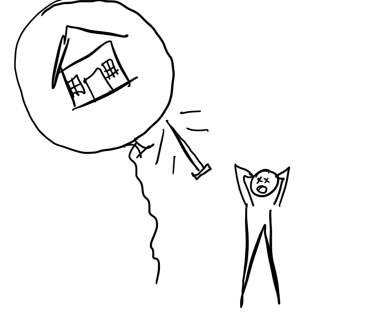 PVDB housing bubble pop