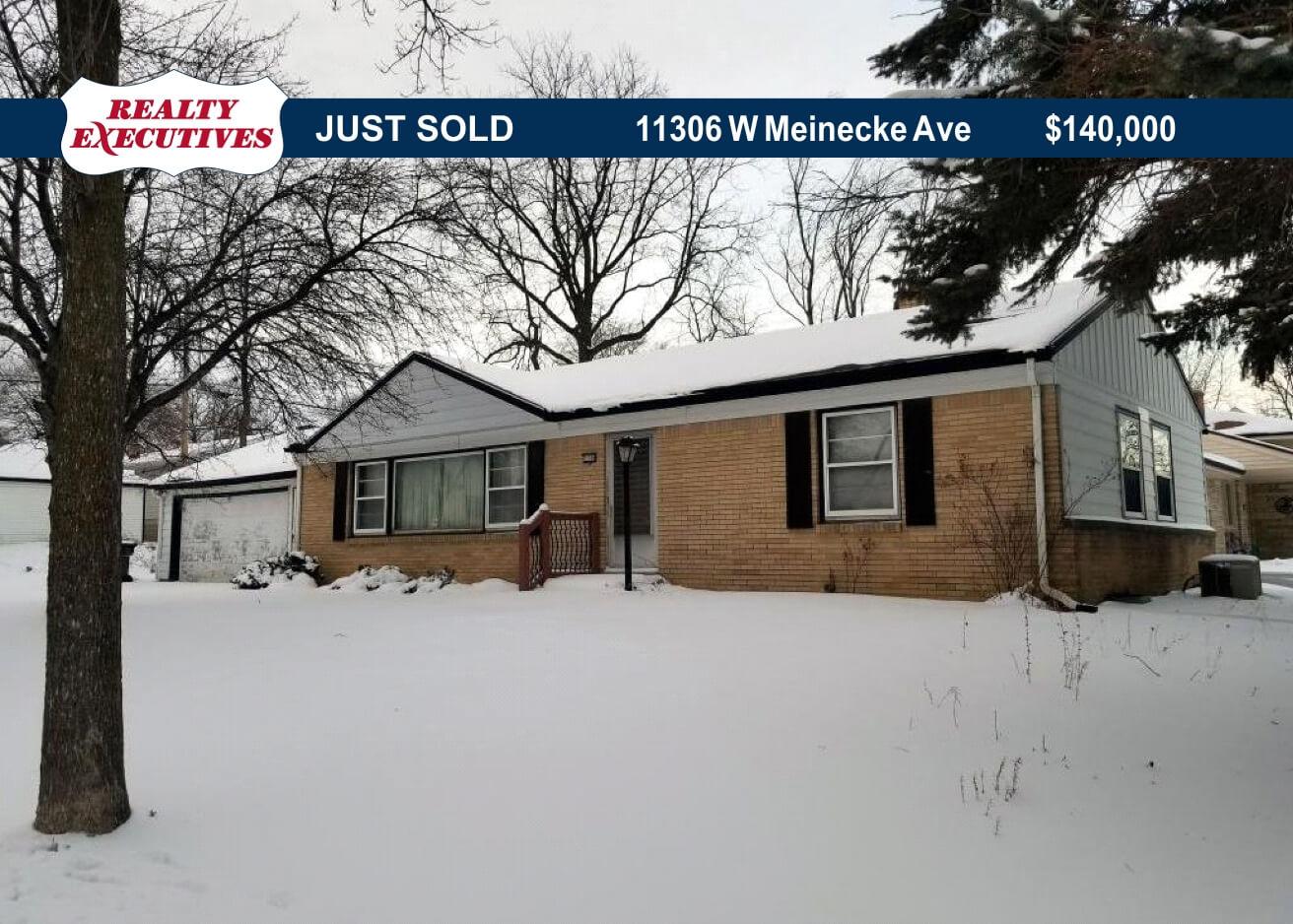 11306 W. Meinecke Ave. Sold