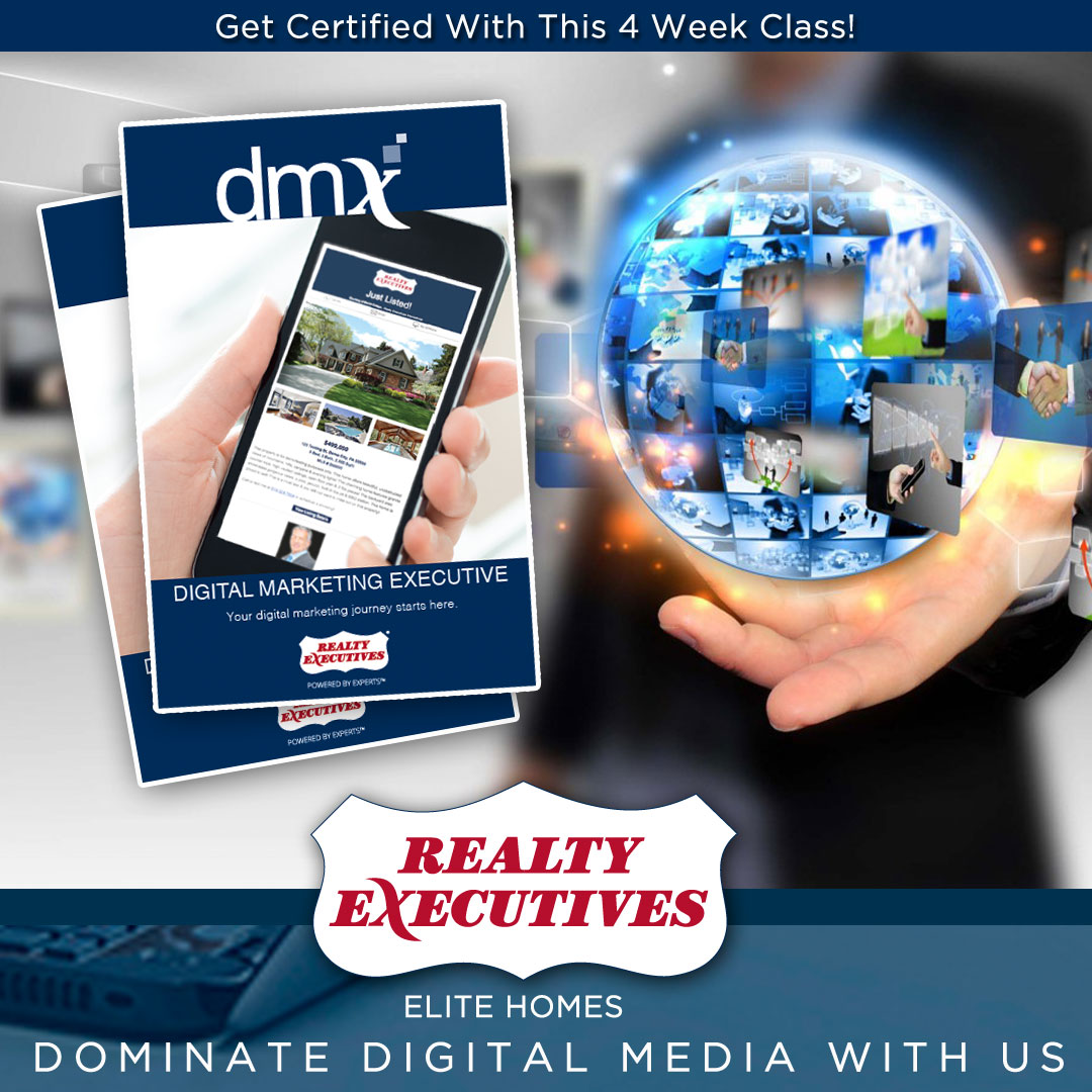 Become a digital marekting expert with Realty Execuitves Elite Homes