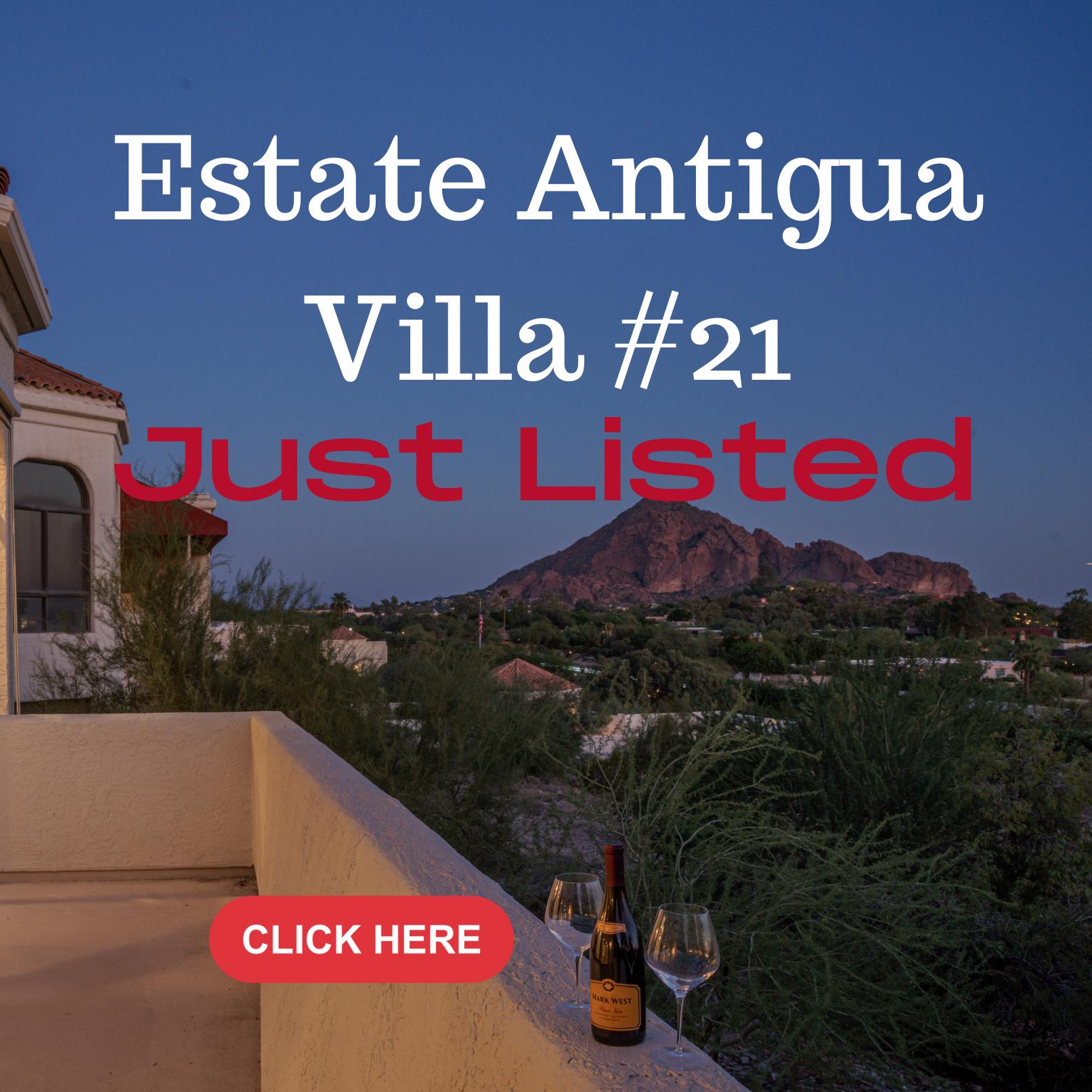 Villa #21 Estate Antigua Just Listed