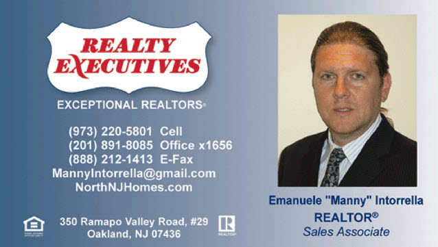 Realty Executives Oakland NJ Emanuele Intorrella