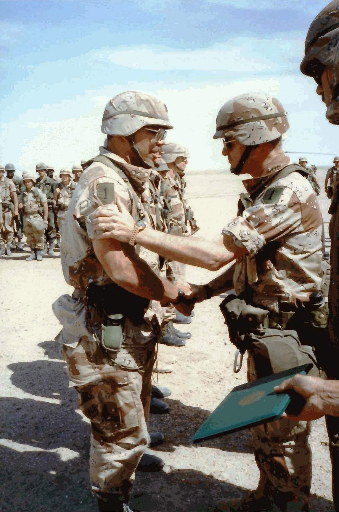 March 1991, Near Nasiriya, Iraq