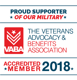 The Veterans Advocacy Benefits Association Designation Logo