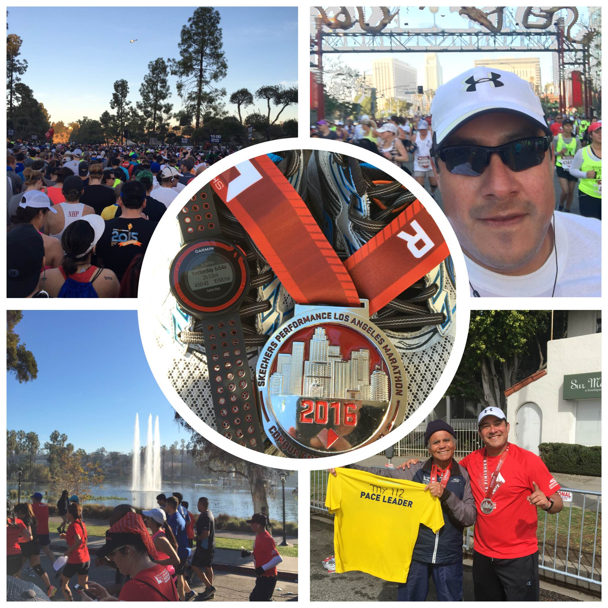 What an amazing Valentine's Day Marathon! So many great stories such as my NEW friend Mr. Delphino who completed is 112th Marathon at the young age of 69! (Lower Right Image)