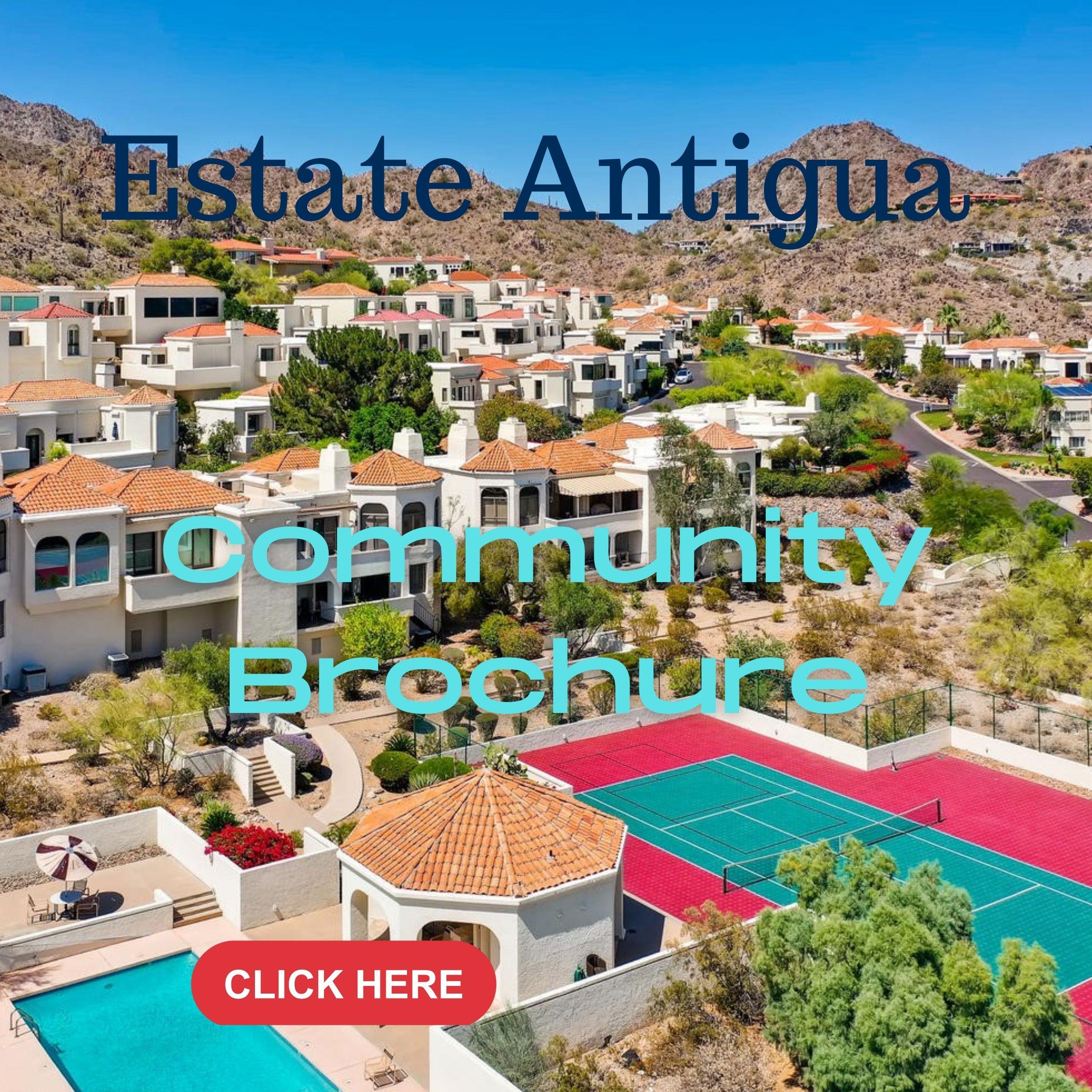 Estate Antigua Community Brochure