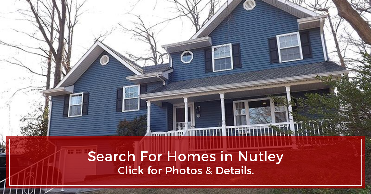 Search For Homes in Nutley NJ