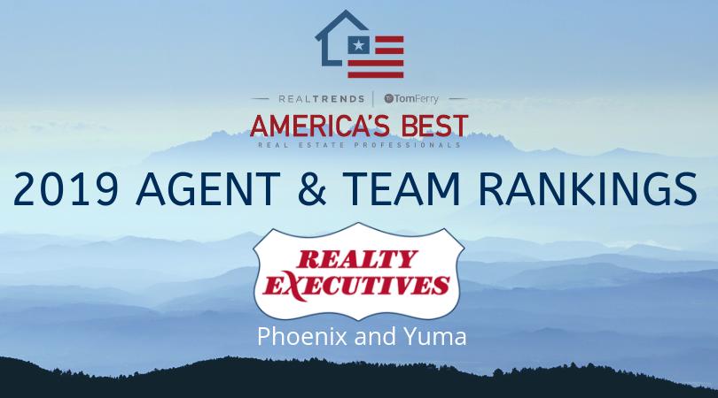 Realty Executives Phoenix & Yuma Agents Rank Among America's Best